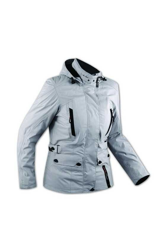Giacca Moto A-Pro Paris Lady Grey
