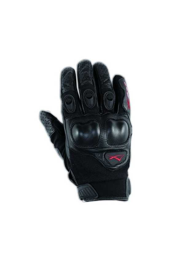 Leather Gloves A-Pro Block Black