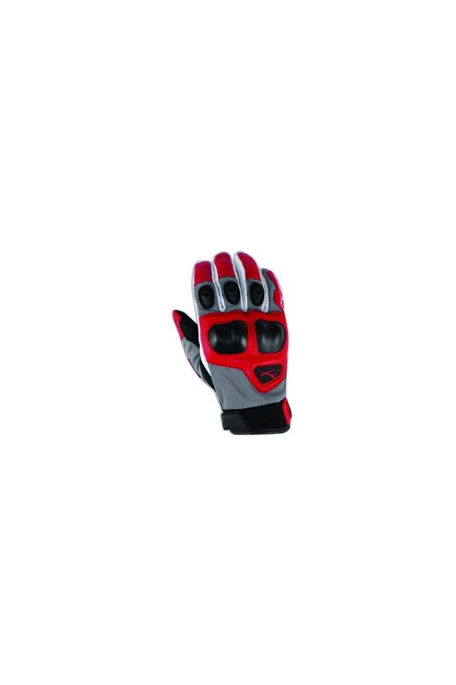 Guanto Moto A-Pro Block Grey-Red