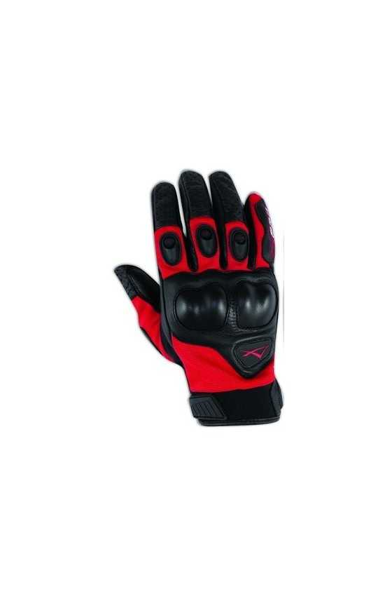 Guanto Moto A-Pro Block Red