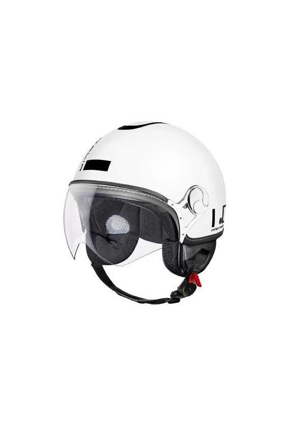 IDI Casco Moto Jet ZeroTre Matt White-Black