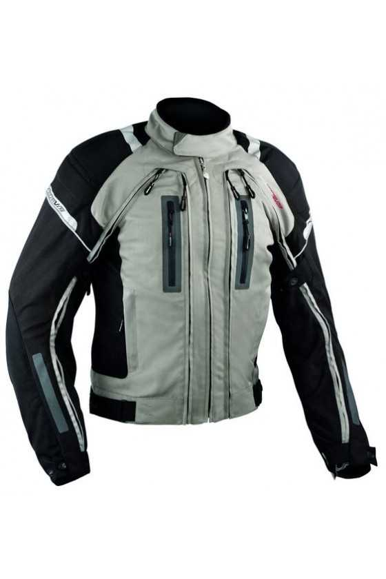 A-Pro Areotech Grey Giacca Moto Touring