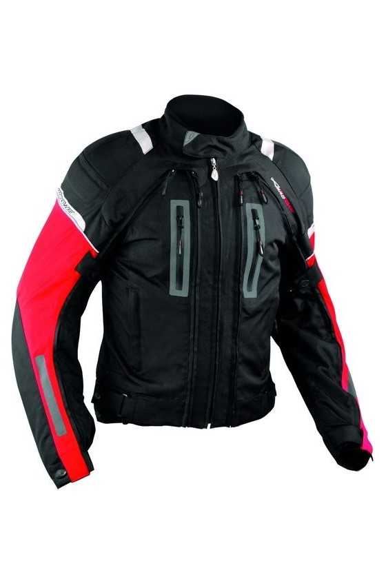 A-Pro Areotech Red Giacca Moto Touring