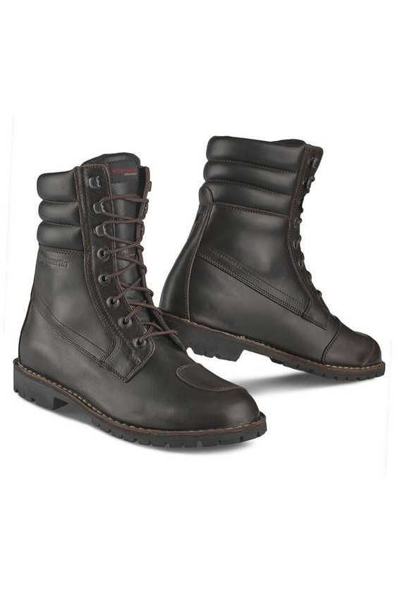 Stylmartin Indian Brown Touring Motorcycle Boots