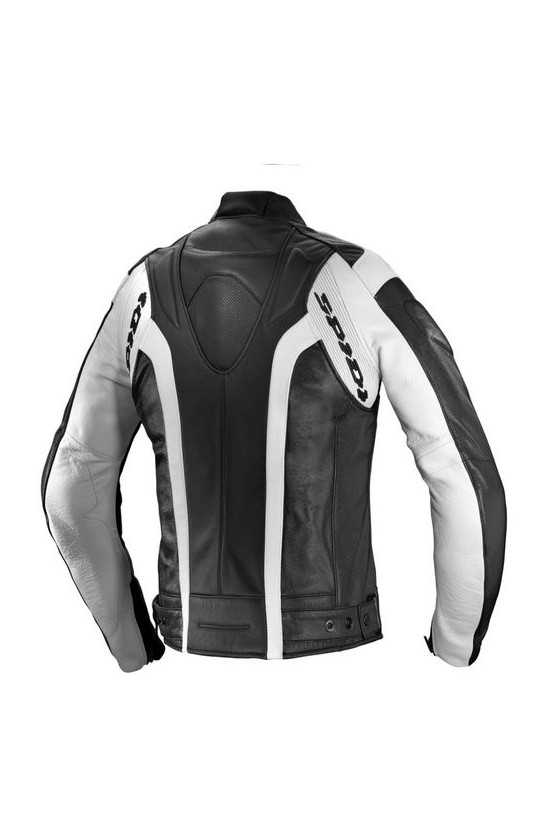Spidi RR Leather Lady Red Giacca Moto Pelle Donna