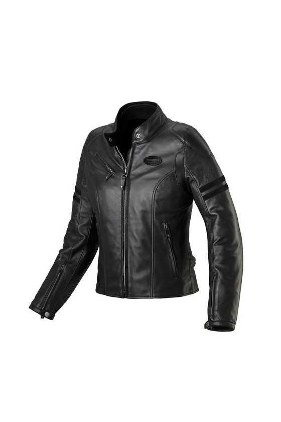 Spidi Ace Leather Lady Black Giacca Moto Pelle Donna