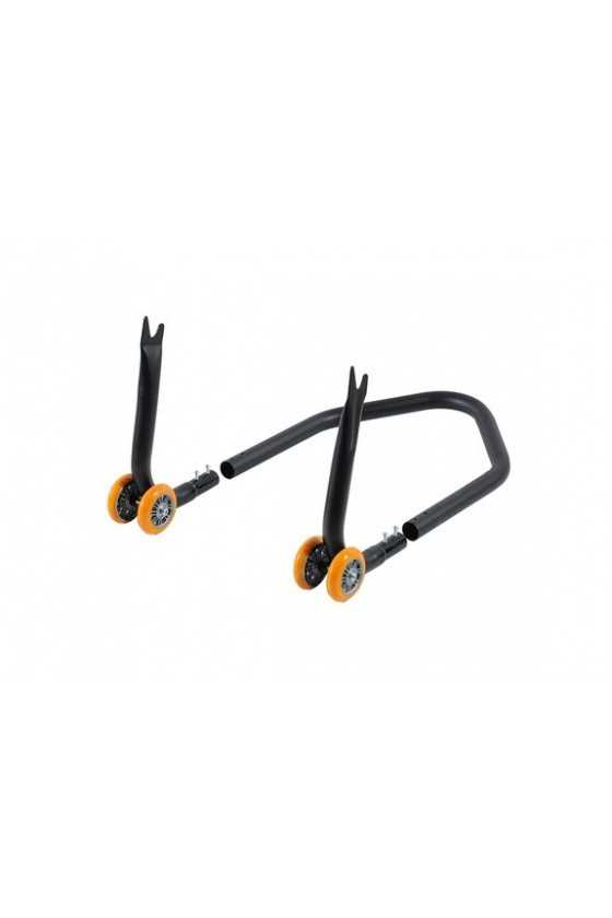 Lightech Modular Rear Stand with Forks | Orange