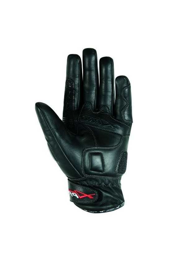 A-Pro Attack Summer Leather Motorcycle Gloves