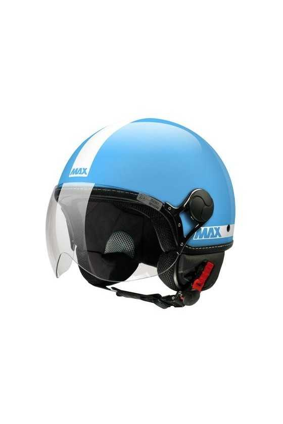 Casco Moto Jet Max Power Shiny Turquoise
