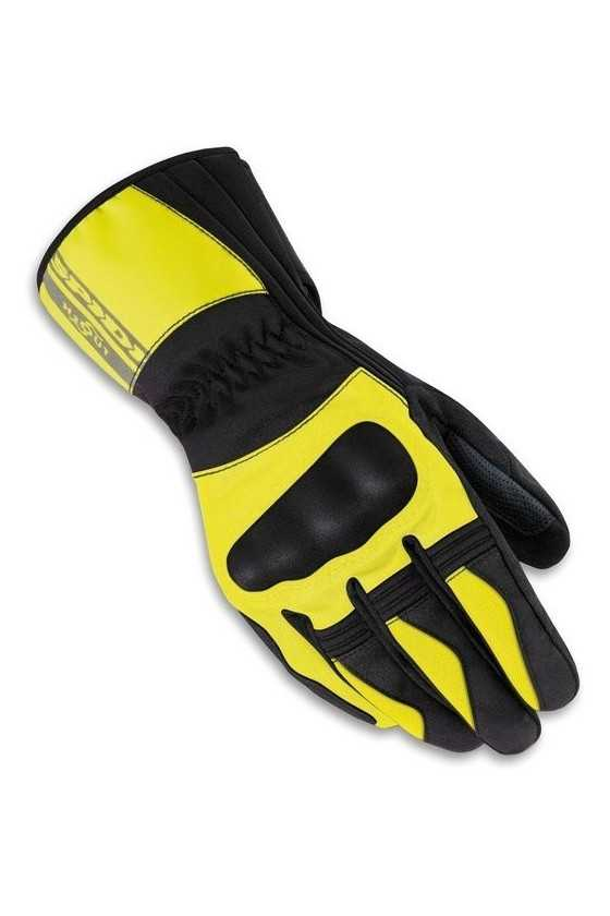Guanti Moto Invernali Spidi Voyager Gloves H2out Black-Yellow