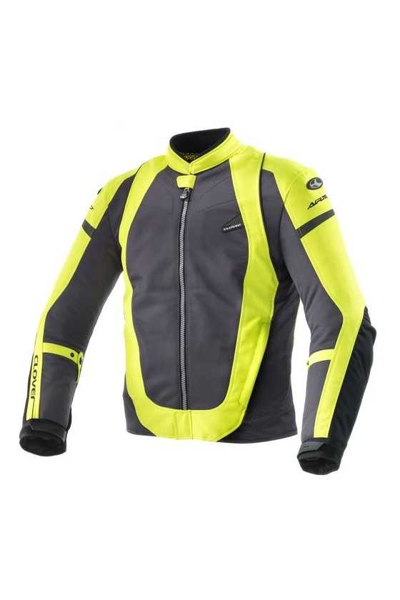 Clover AirJet 3 Summer Motorcycle Jacket Yellow | Yellow