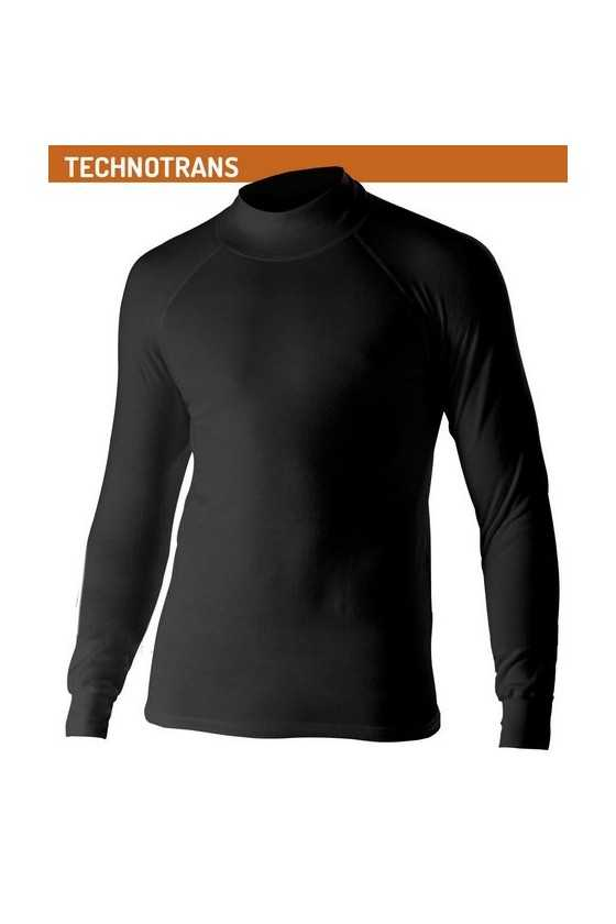 Lupetto Termico Biotex Turtleneck Technotrans Black