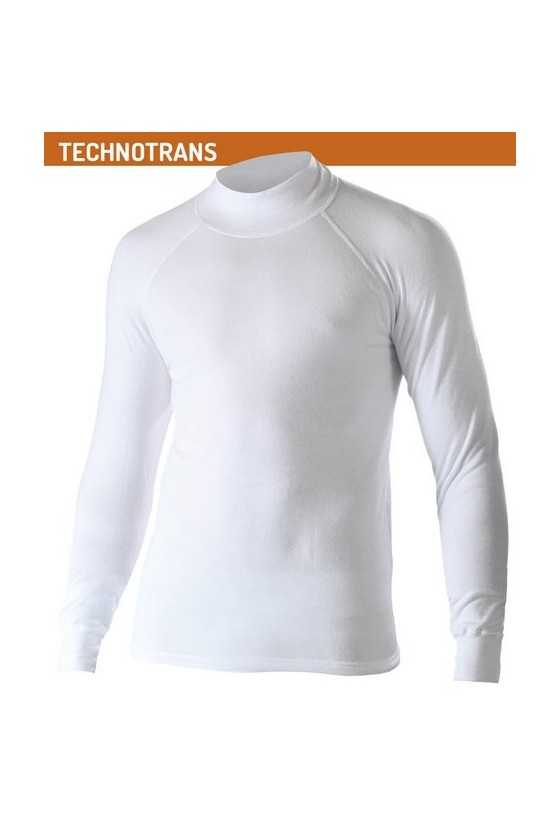 Lupetto Termico Biotex Turtleneck Technotrans White