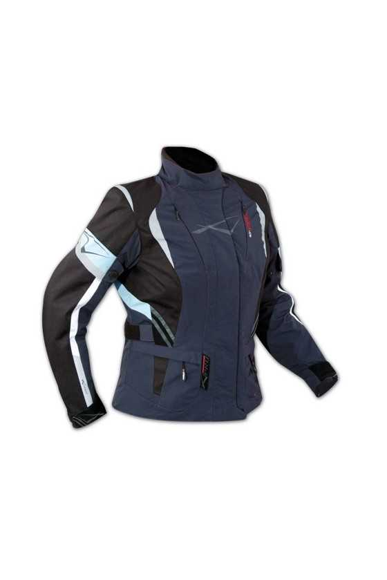 Giacca Moto A-Pro Traveller Blue