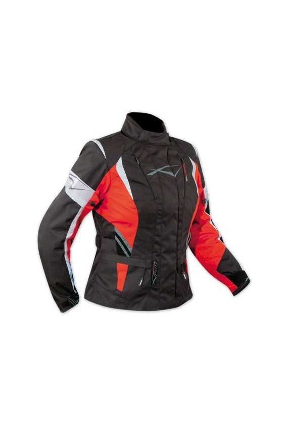 Giacca Moto A-Pro Traveller Red