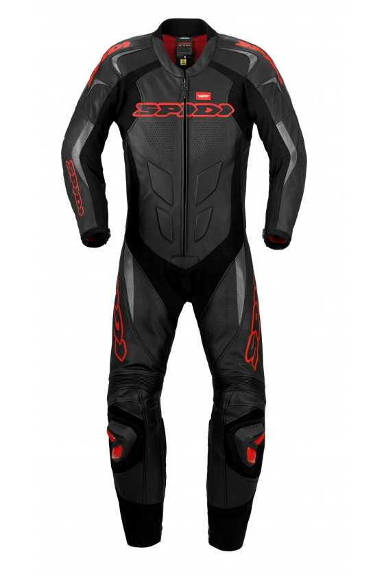 Tuta Moto Intera Spidi Supersport Wind Pro Black-Red