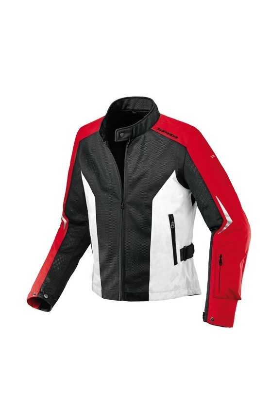 Giacca Moto Estiva Spidi Air Net Black-Red