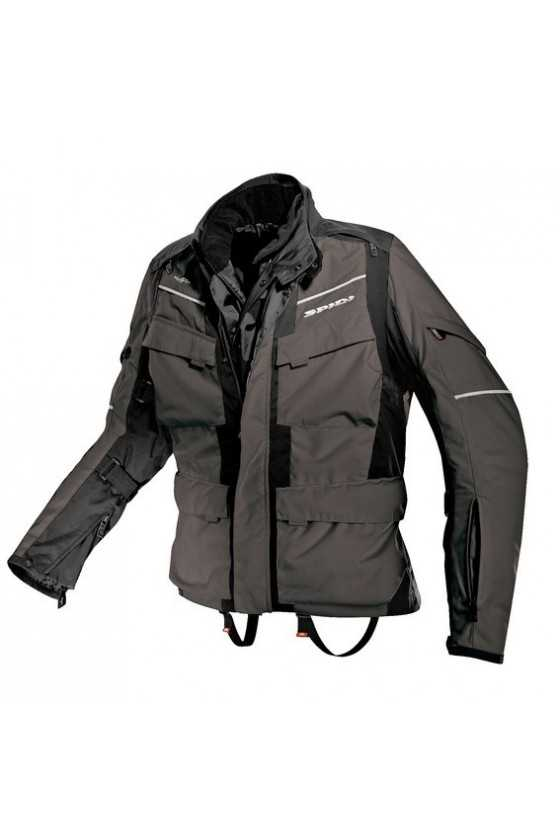 Spidi Venture H2out Motorcycle Jacket Black-Anthracite