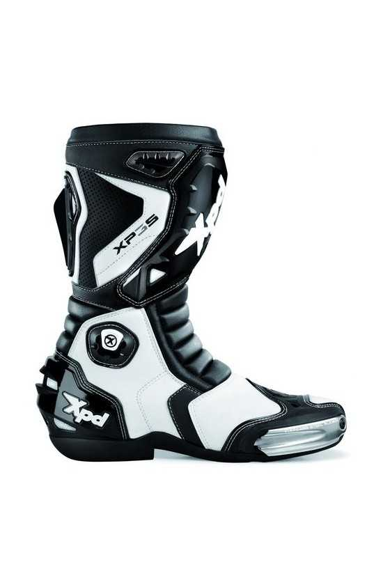 XPD XP3-S Race Motorcycle Boots White