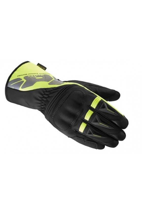 Guanti Moto Invernali Spidi Alu-Pro H2out Black-Yellow