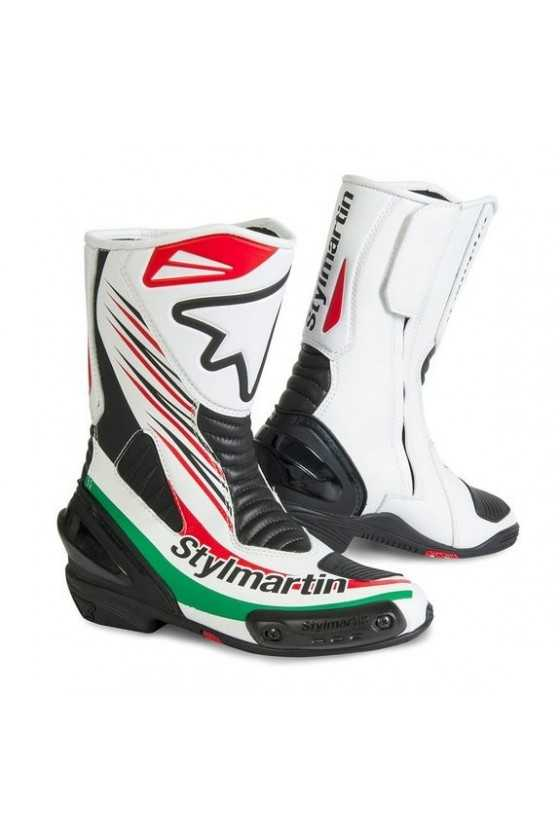 Stylmartin Dream RS Kid Race Motorcycle Boots | Blanc