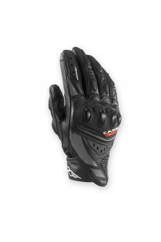 Clover RSC-3 Short Motorcycle Gloves Black