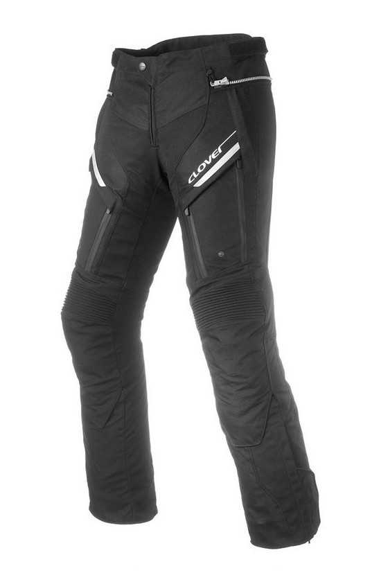 Clover GT-Pro 2 Wp Long Motorcycle Pants Black
