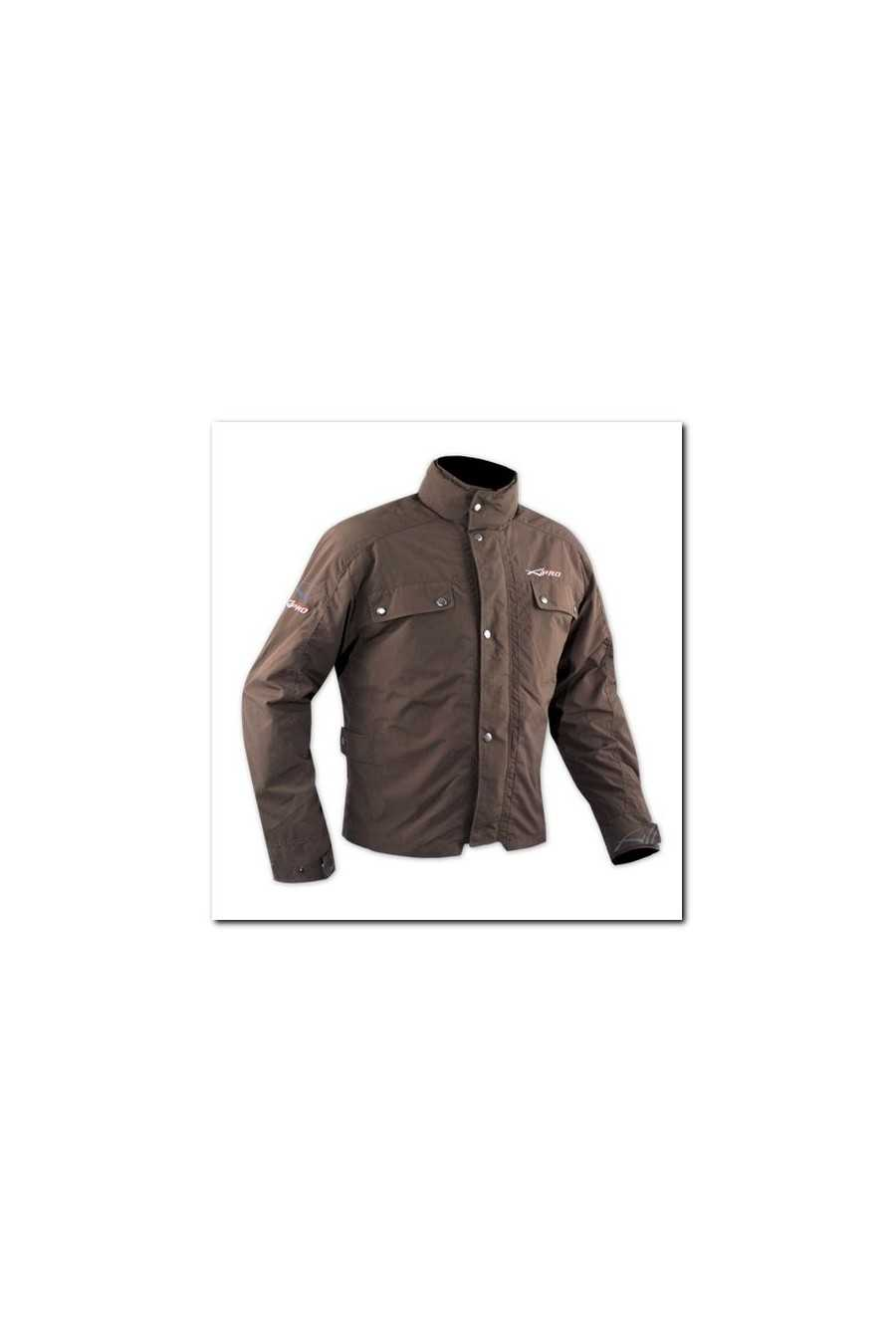 Giubbotto Moto A-Pro Piccadilly Brown
