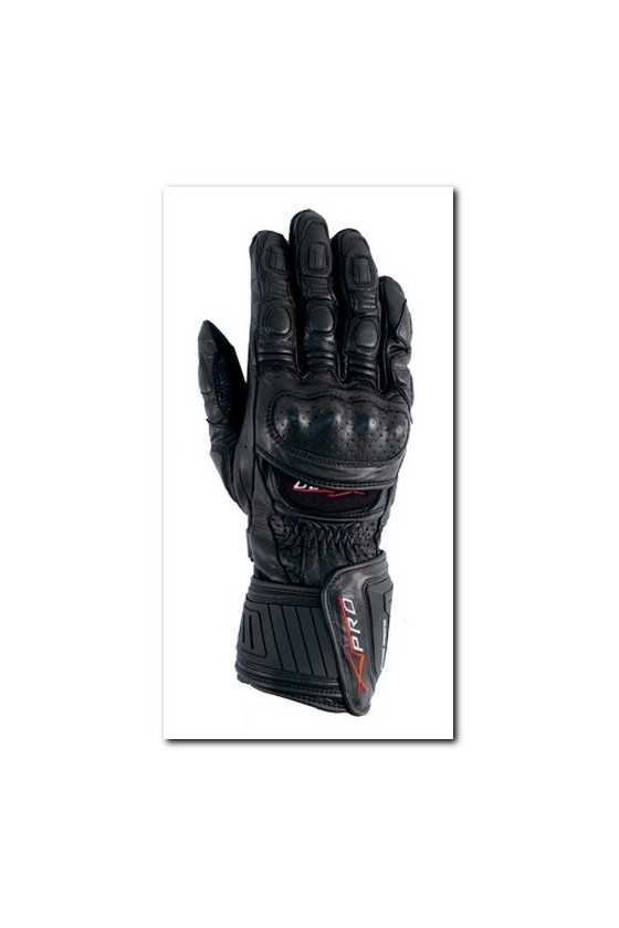 Leather Gloves A-Pro Cobra Black