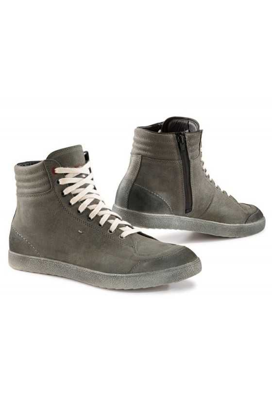 Zapatos Moto Tcx X-Groove Waterproof Urban Grey