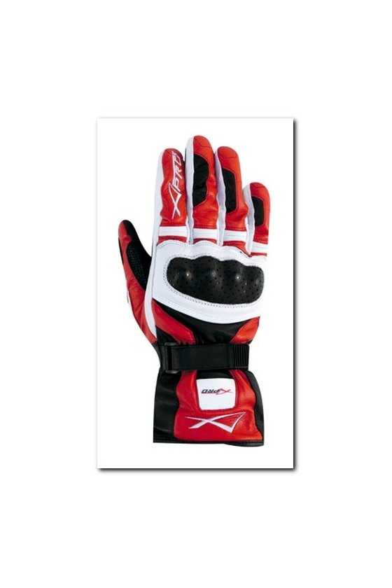 Leather Gloves A-Pro Precision White Red