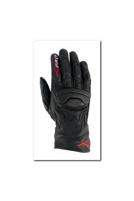 Leather Gloves A-Pro Fire Power Black