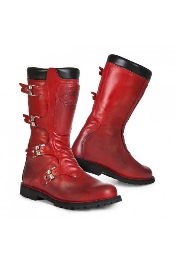 Stylmartin Continental Motorcycle Boots Red