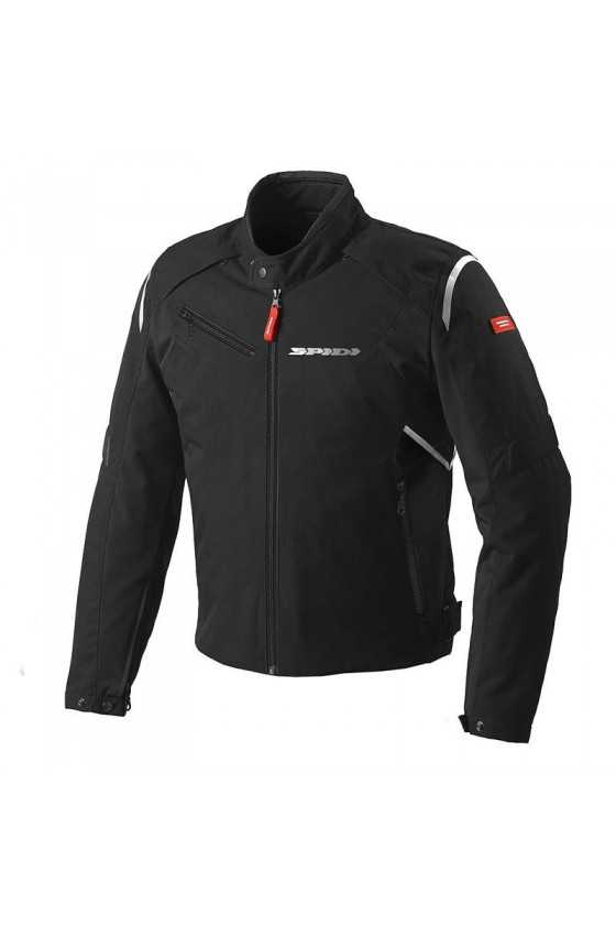 Spidi Flash Tex Motorcycle Jacket Black