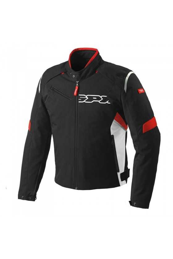 Chaqueta Moto Spidi Flash Tex Black-Red