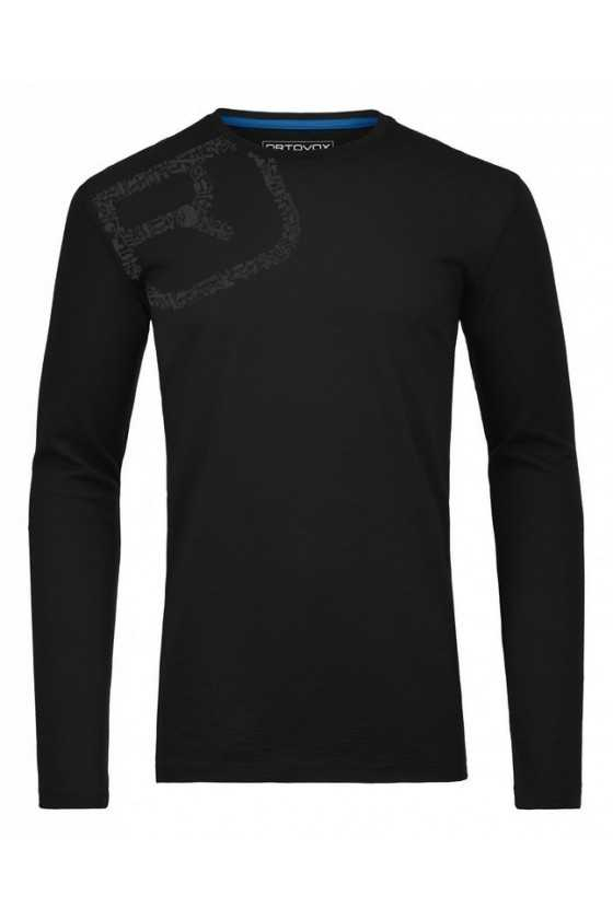 Ortovox Maglia 185 Equipment Logo Long Sleeve
