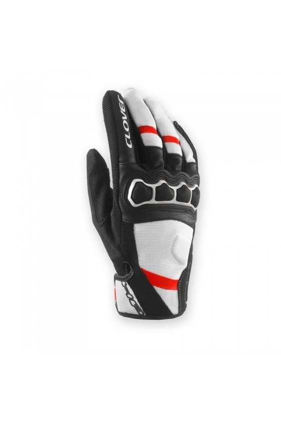 Clover Airtouch 2 Lady Guantes | White/Red