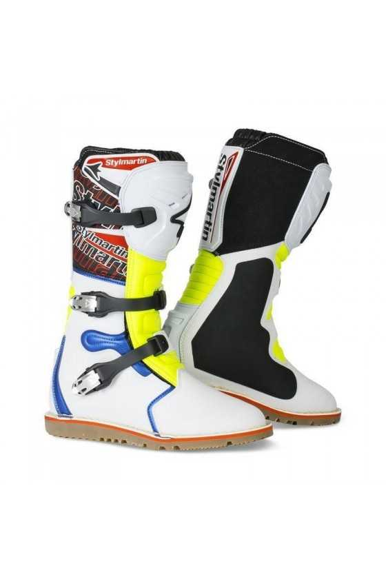 Stylmartin Impact Pro Boots   White/Red