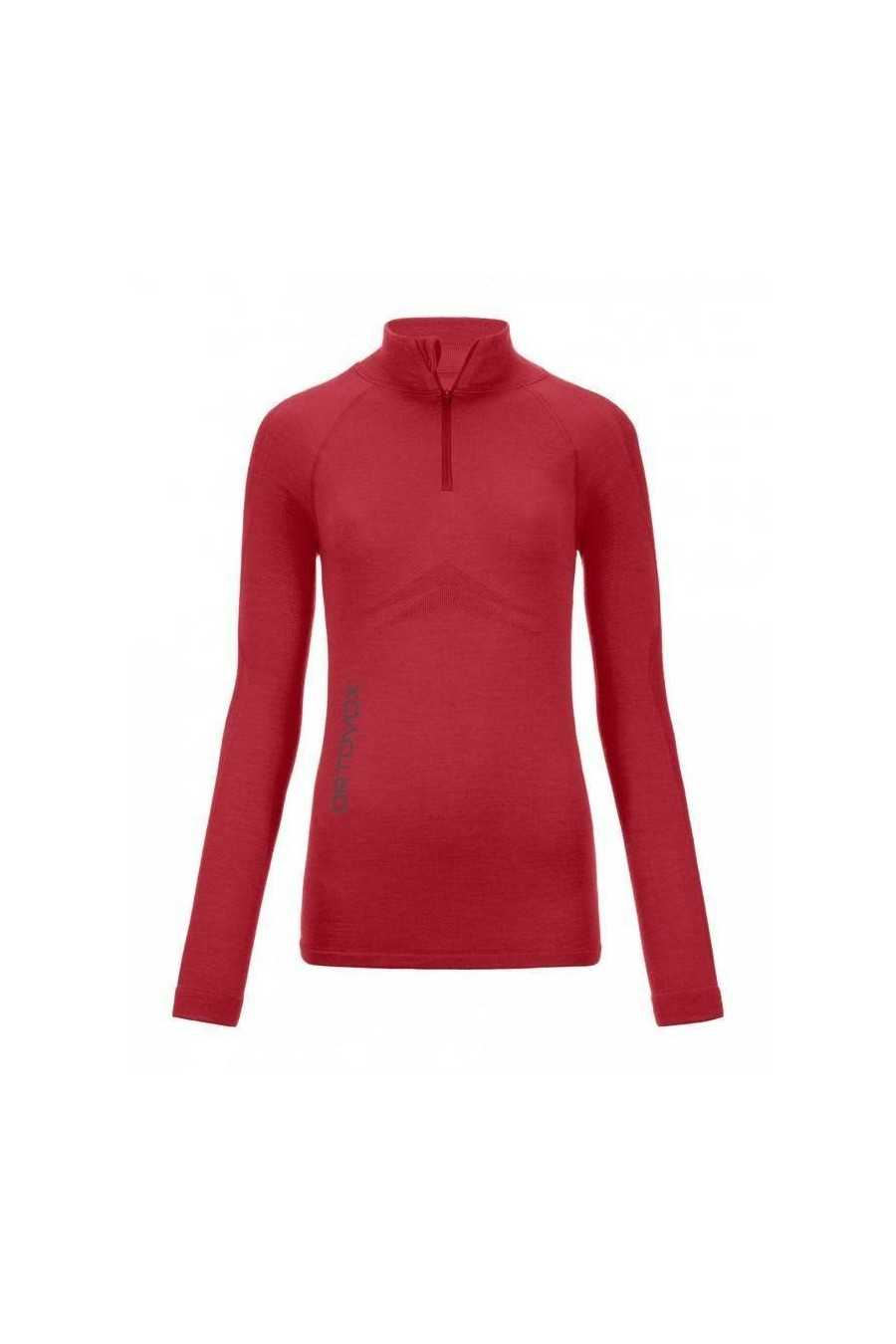 Ortovox Sous-Pull 230 Merino Competition Zip Neck Woman